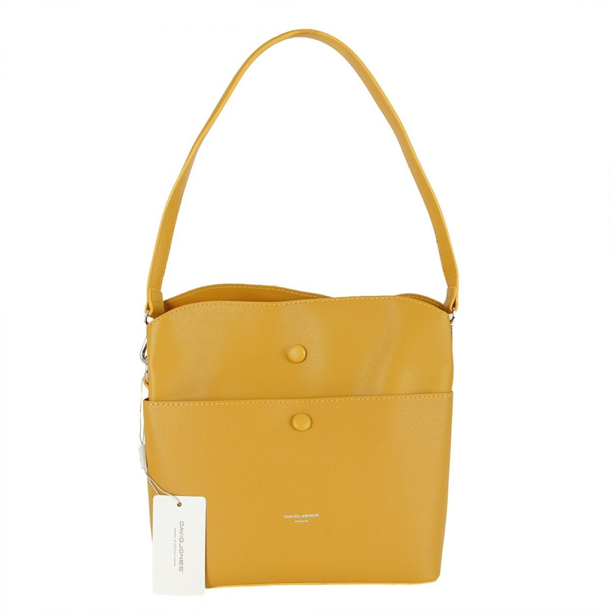 Жіноча сумка David Jones CM5769 YELLOW