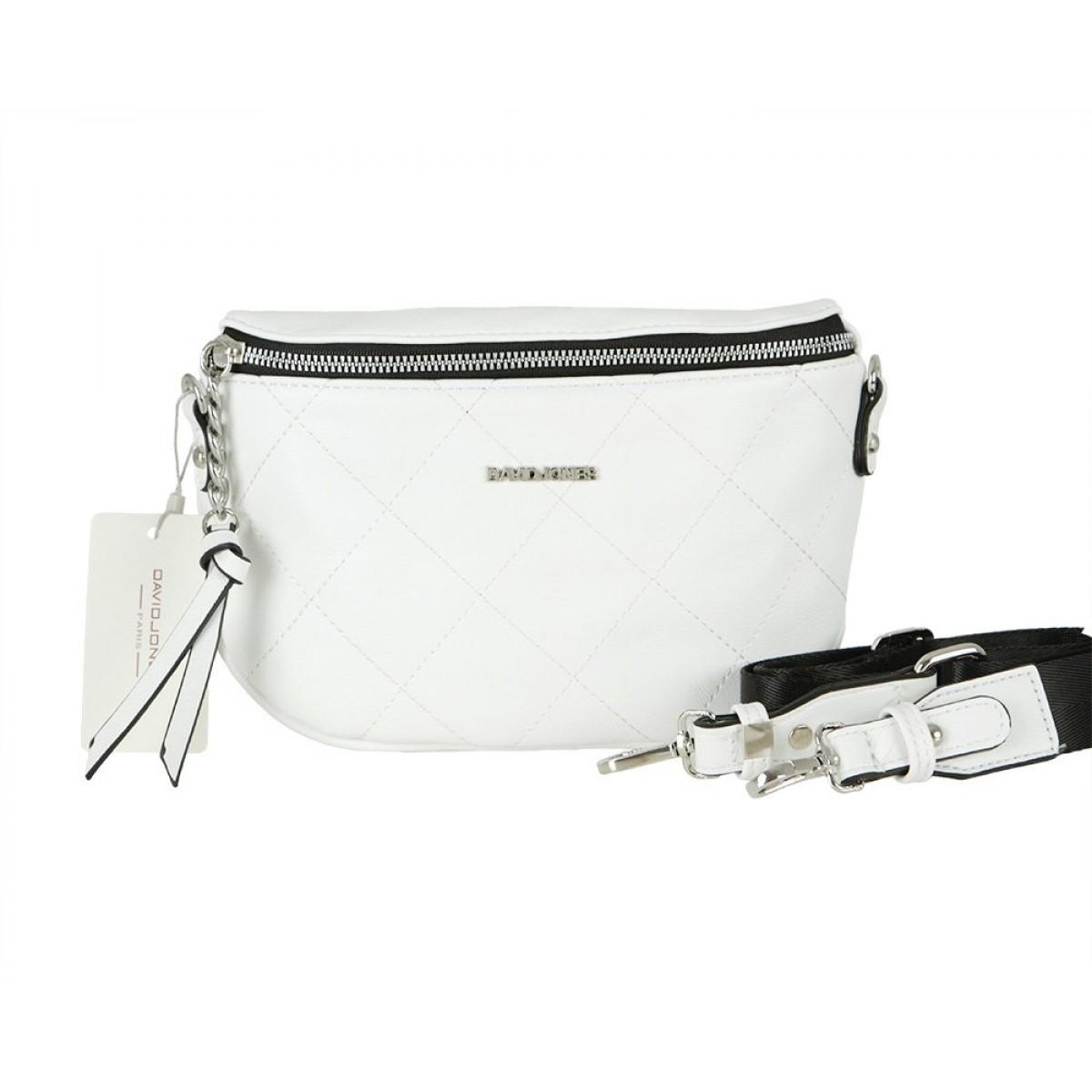 Жіноча сумка David Jones CM5771 WHITE