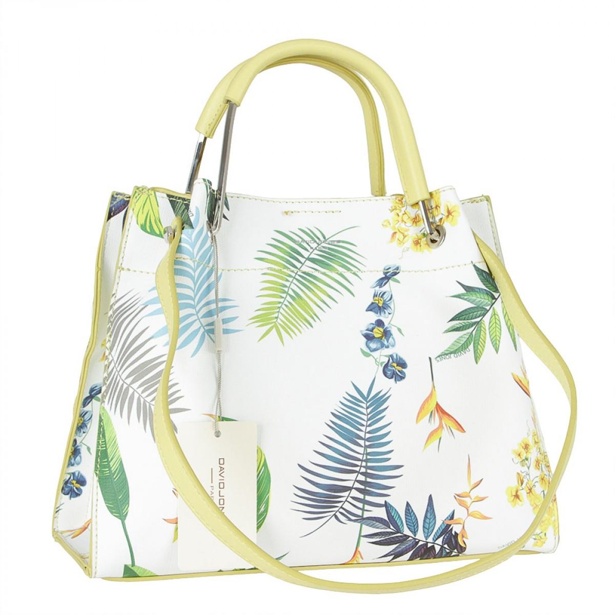 Жіноча сумка David Jones CM5773 FEINT YELLOW