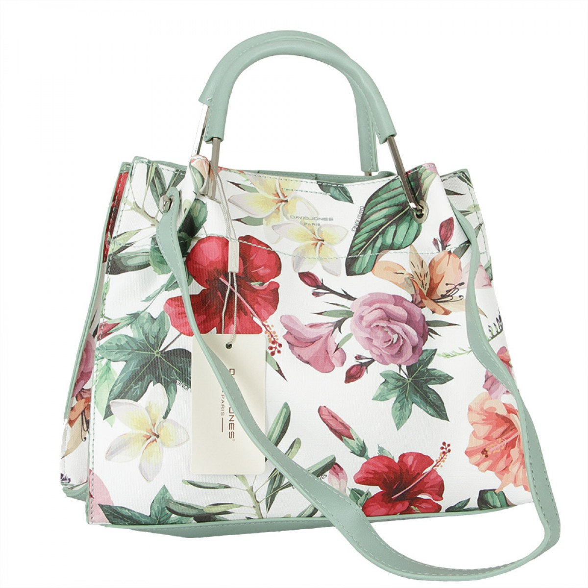 Жіноча сумка David Jones CM5773 PALE GREEN