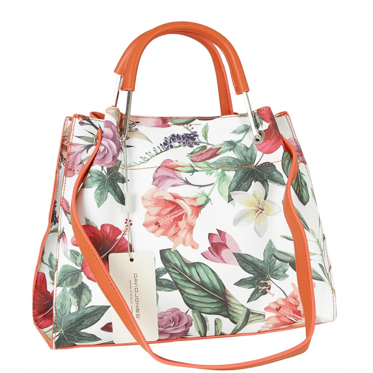 Жіноча сумка David Jones CM5773 ORANGE