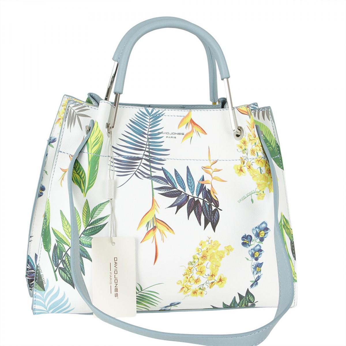 Жіноча сумка David Jones CM5773 PALE BLUE