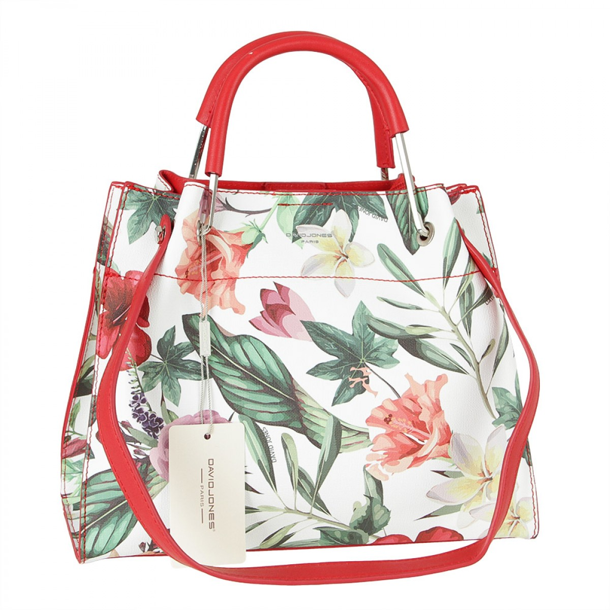 Жіноча сумка David Jones CM5773 RED