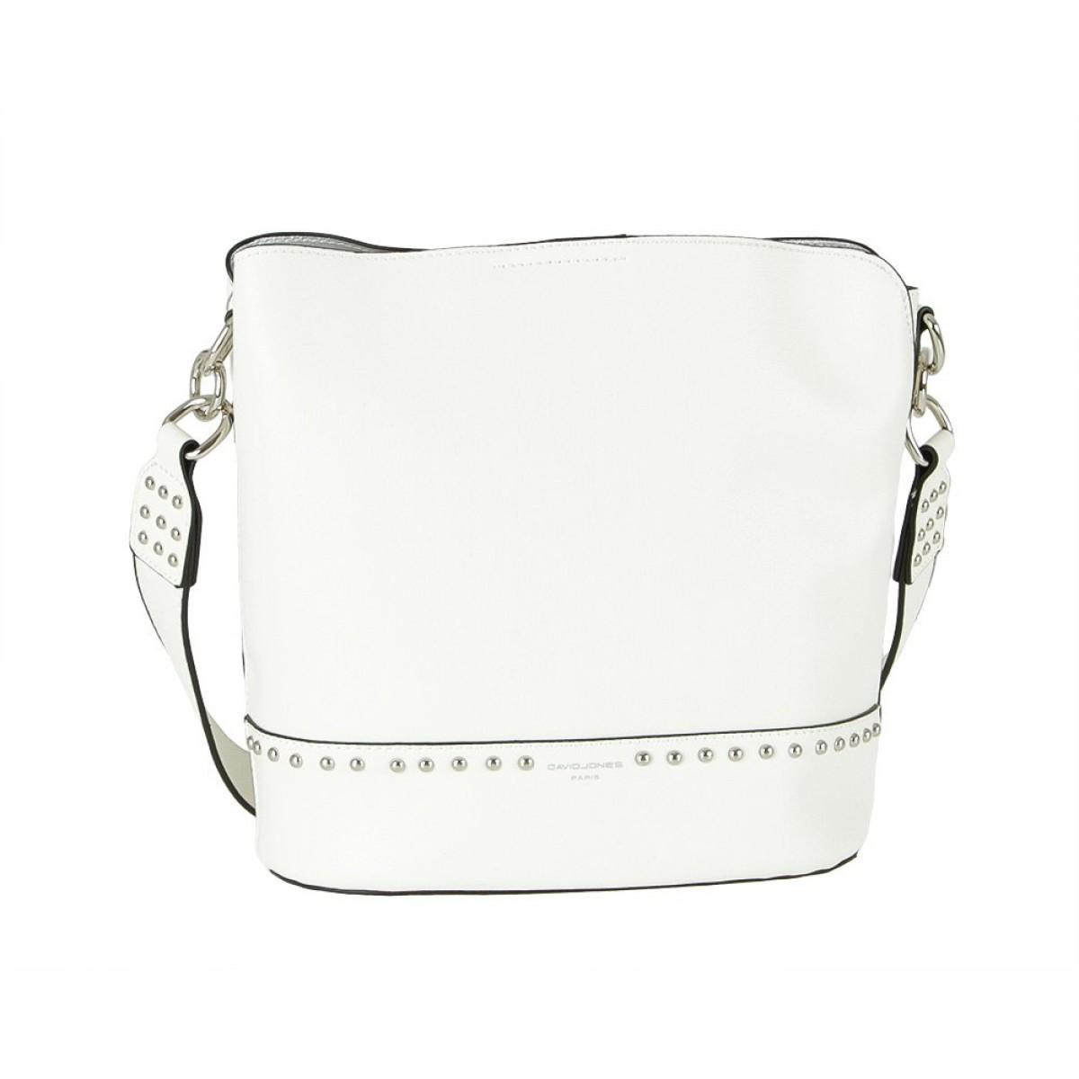 Жіноча сумка David Jones CM5774 WHITE
