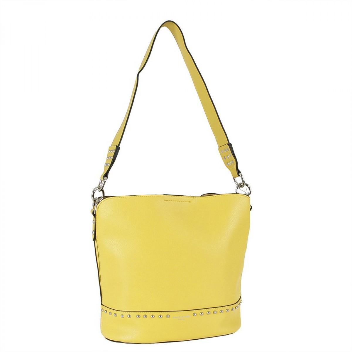 Жіноча сумка David Jones CM5774 YELLOW