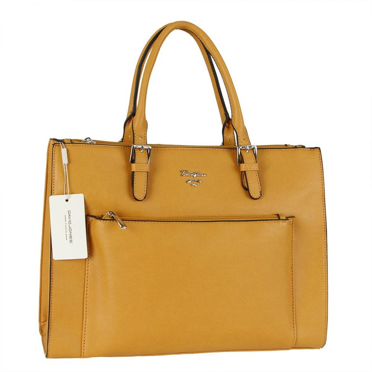 Жіноча сумка David Jones CM5776 YELLOW