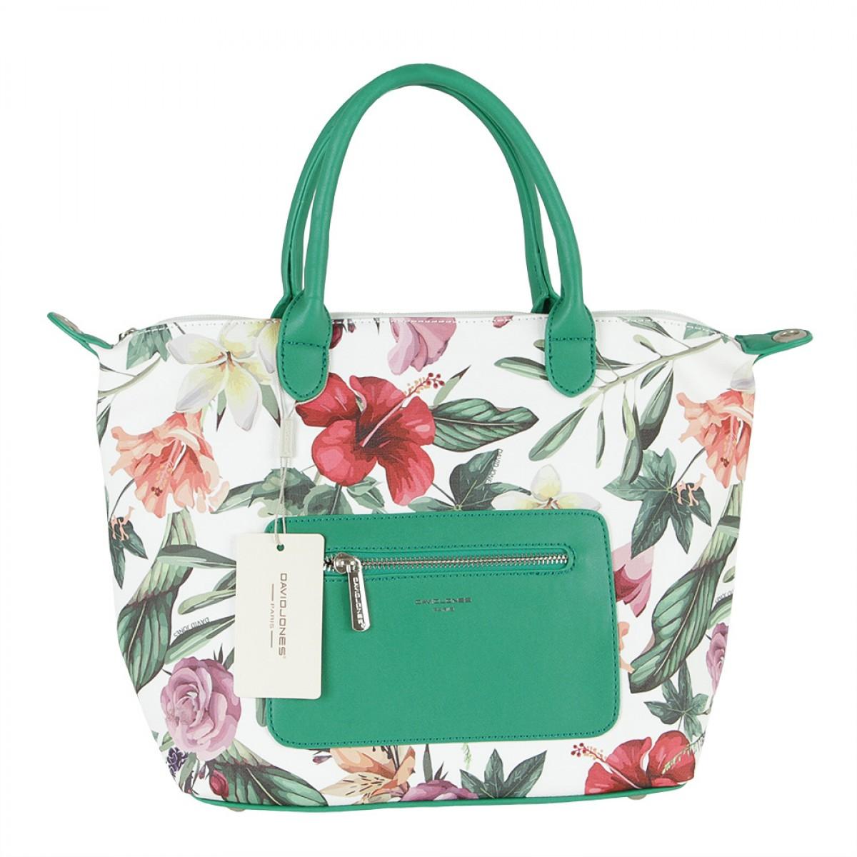 Жіноча сумка David Jones CM5778 GREEN