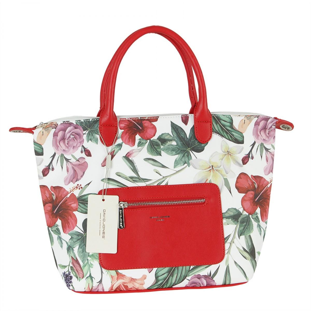 Жіноча сумка David Jones CM5778 RED