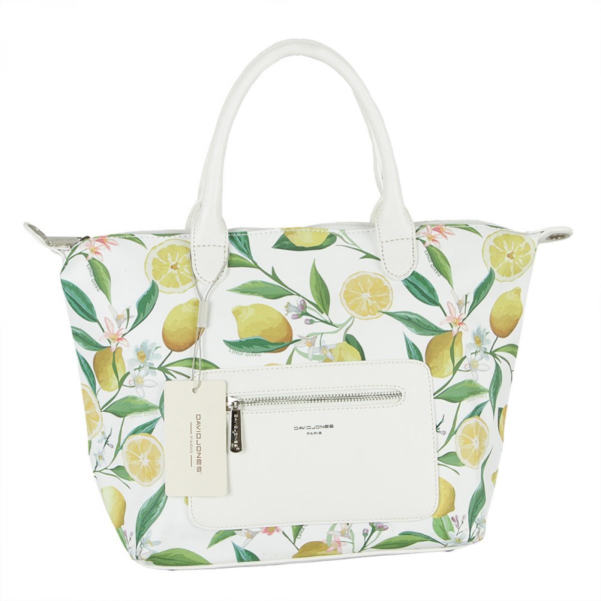 Жіноча сумка David Jones CM5778 WHITE