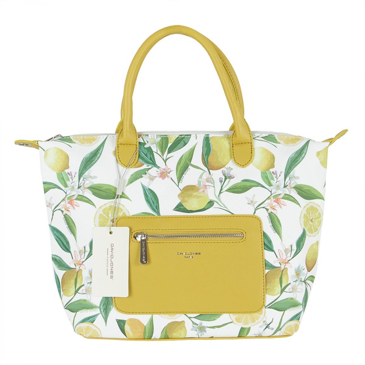 Жіноча сумка David Jones CM5778 YELLOW