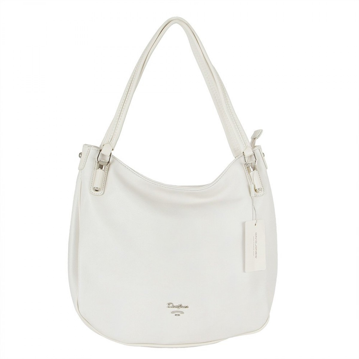 Жіноча сумка David Jones CM5786 CREAMY WHITE