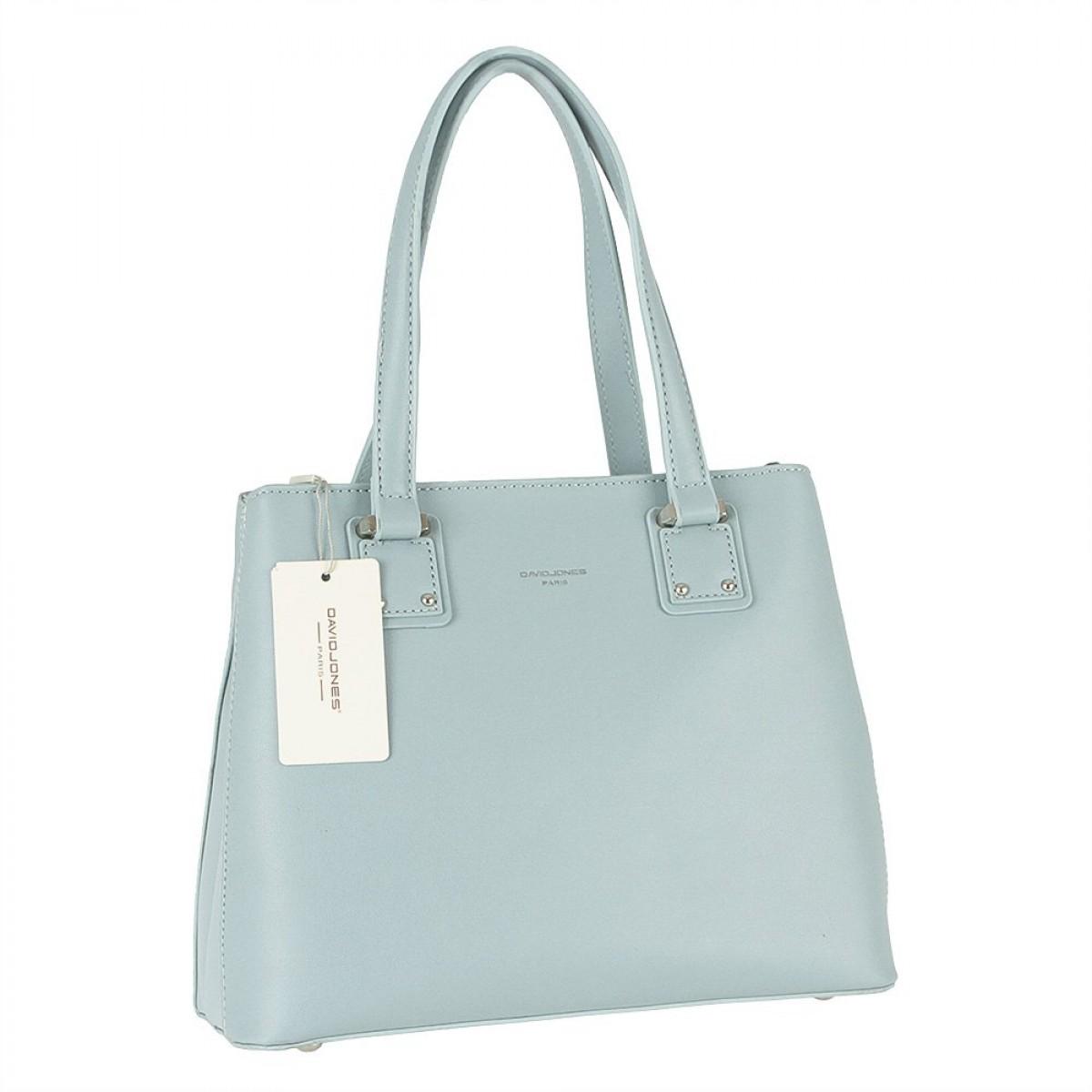 Жіноча сумка David Jones CM5787 PALE BLUE