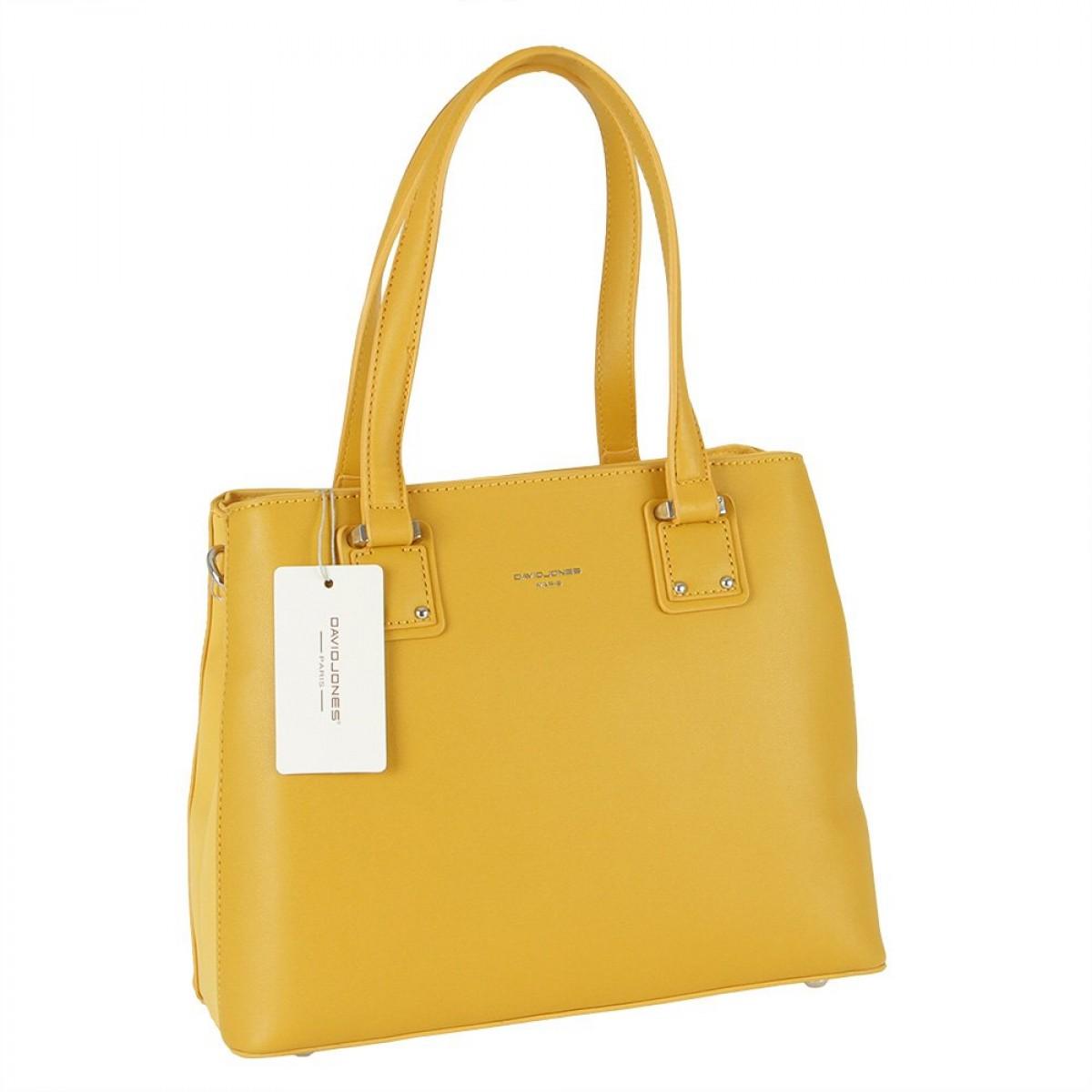 Жіноча сумка David Jones CM5787 YELLOW