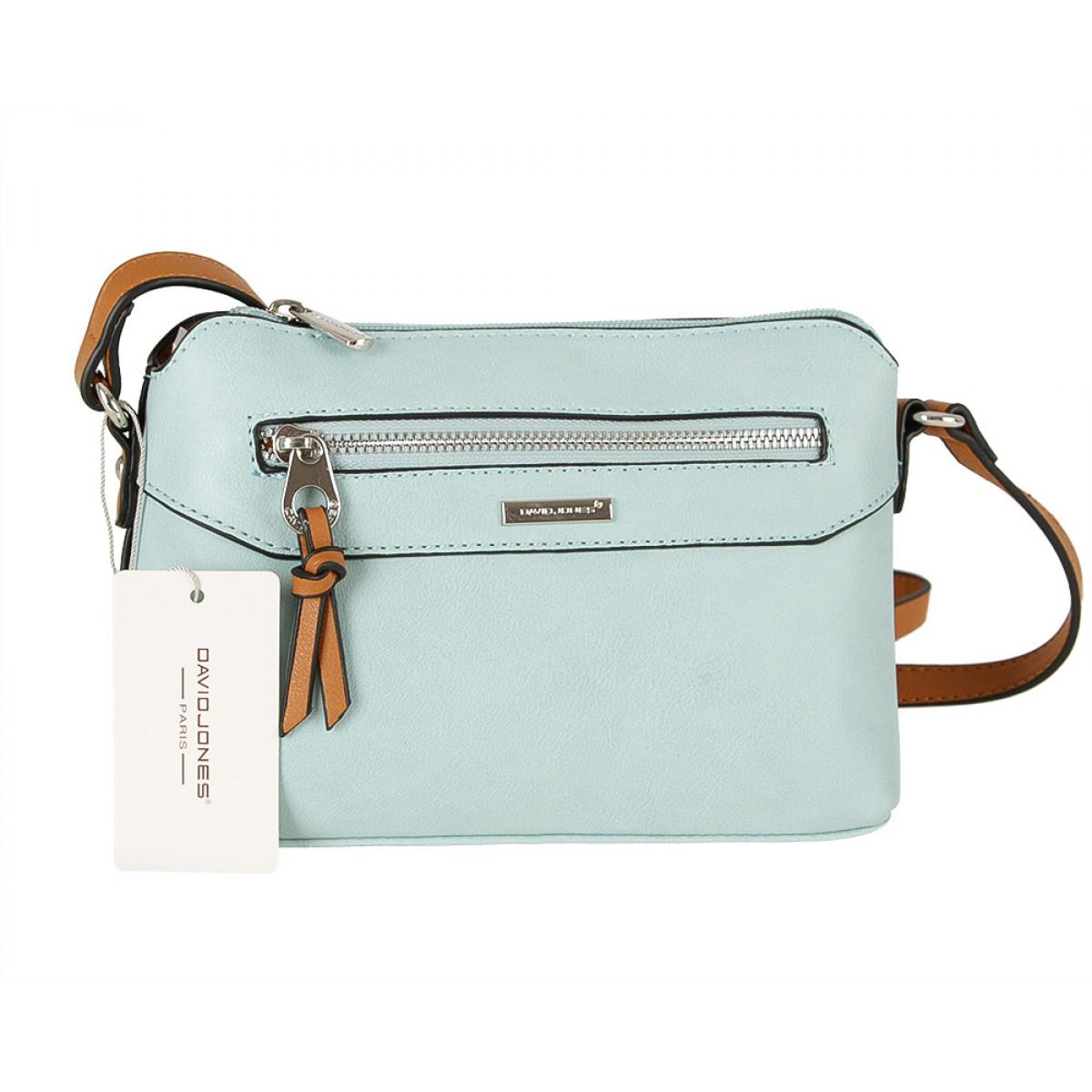 Жіноча сумка David Jones CM5788 PALE GREEN
