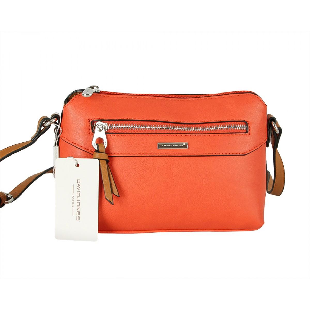 Жіноча сумка David Jones CM5788 ORANGE