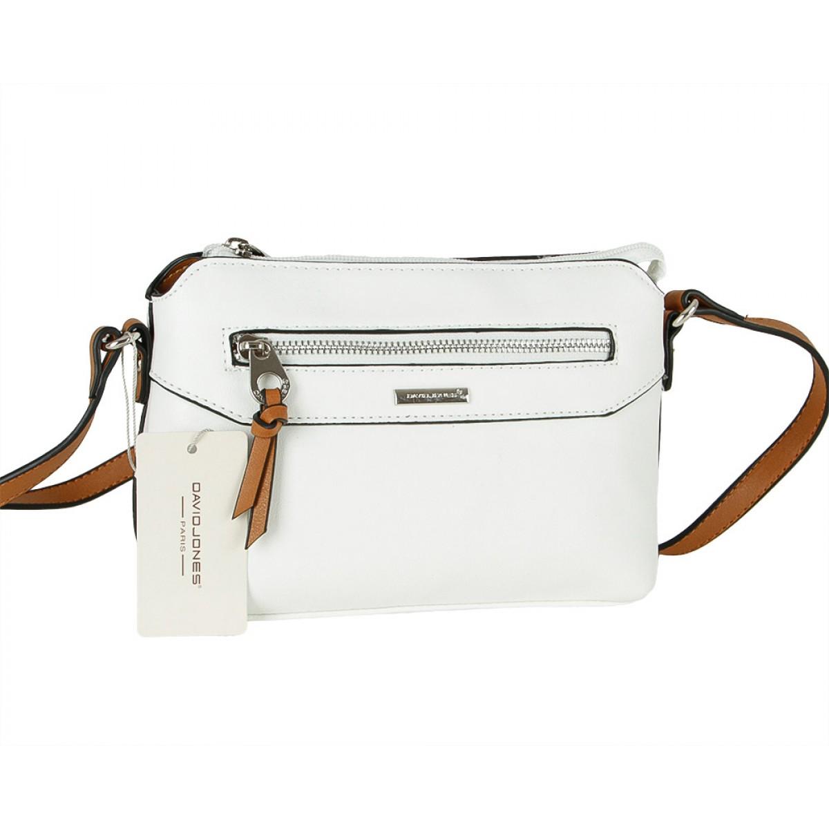 Жіноча сумка David Jones CM5788 WHITE