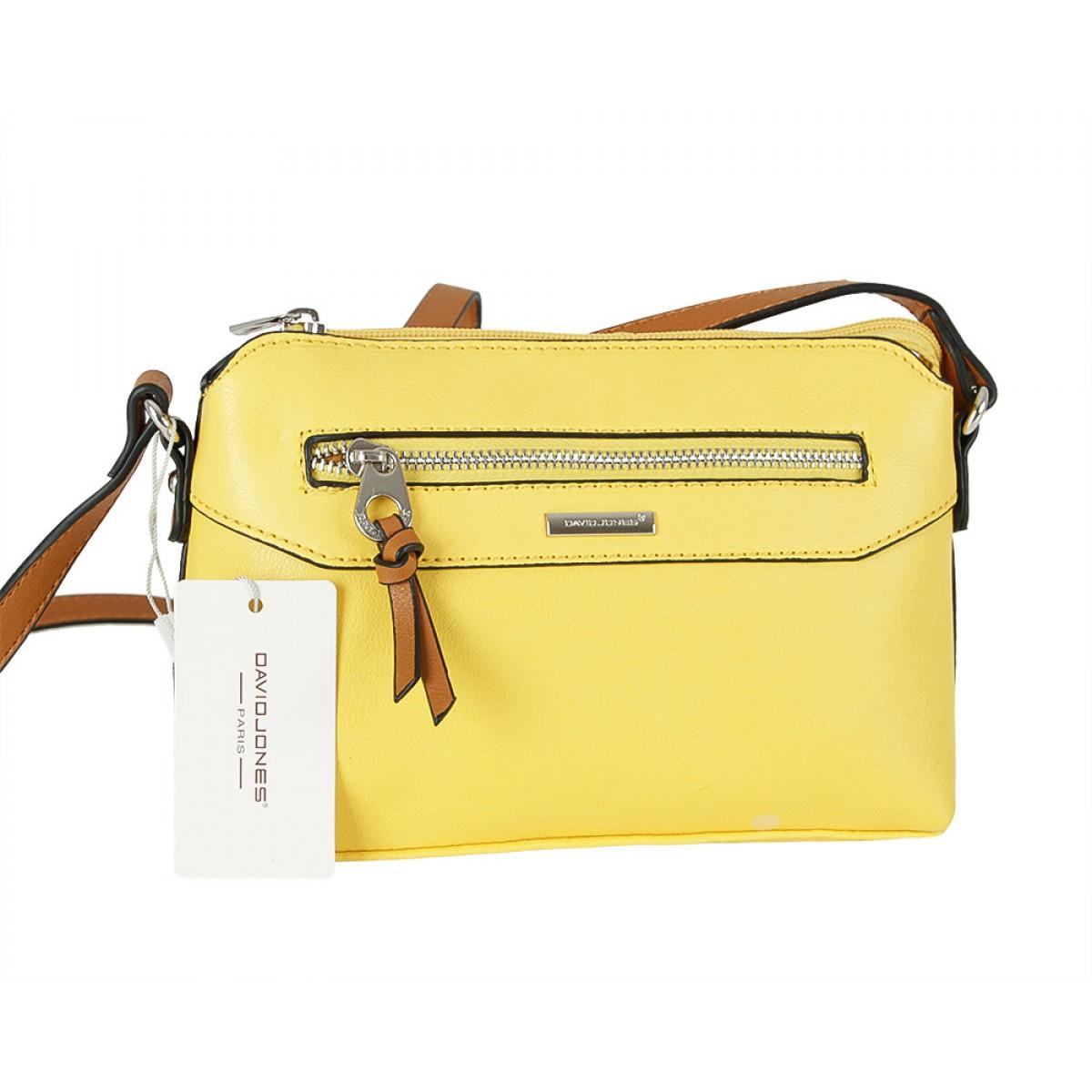 Жіноча сумка David Jones CM5788 YELLOW