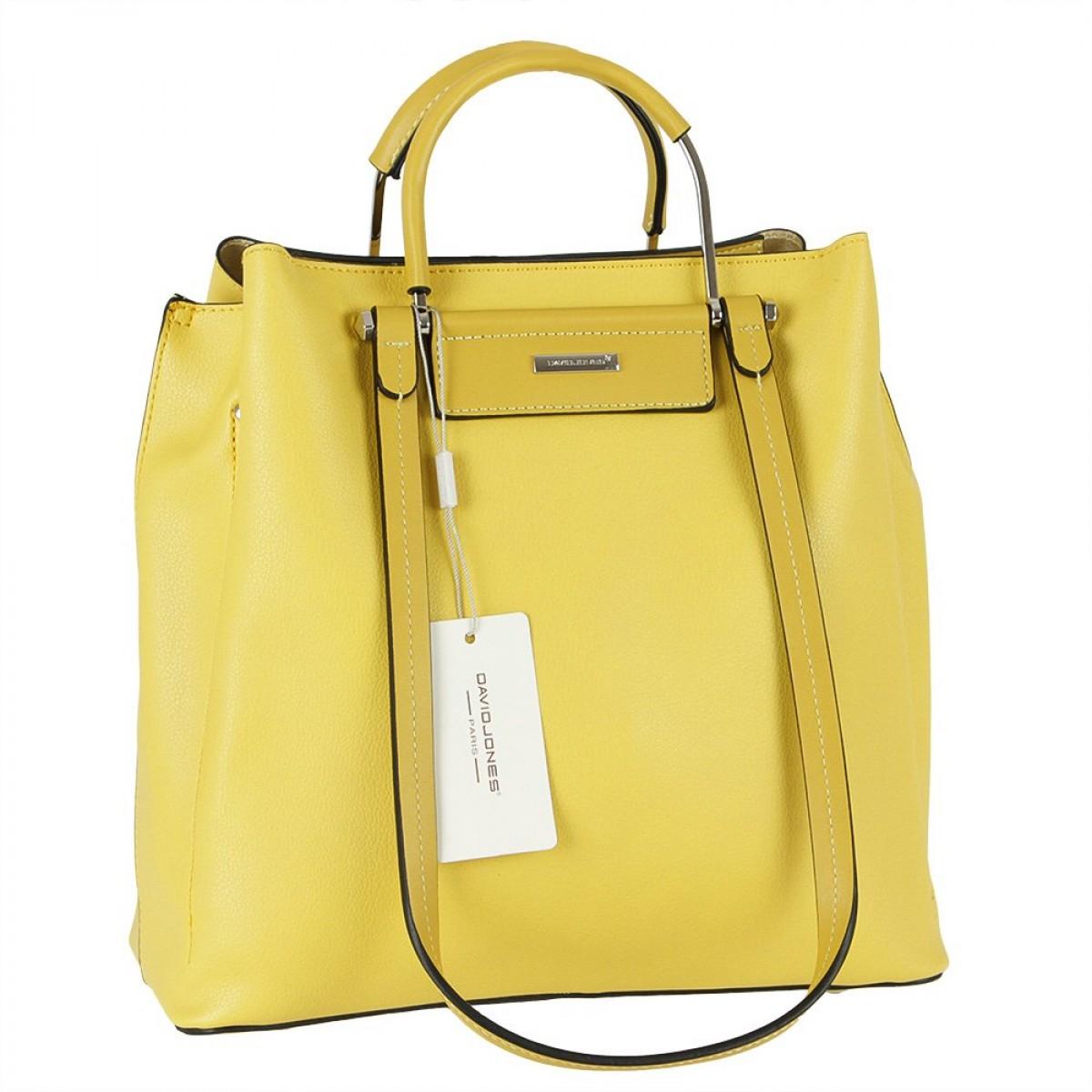 Жіноча сумка David Jones CM5789 YELLOW