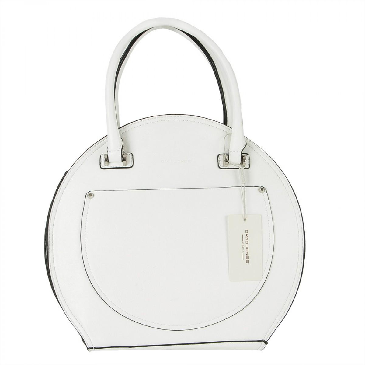 Жіноча сумка David Jones CM5793 WHITE
