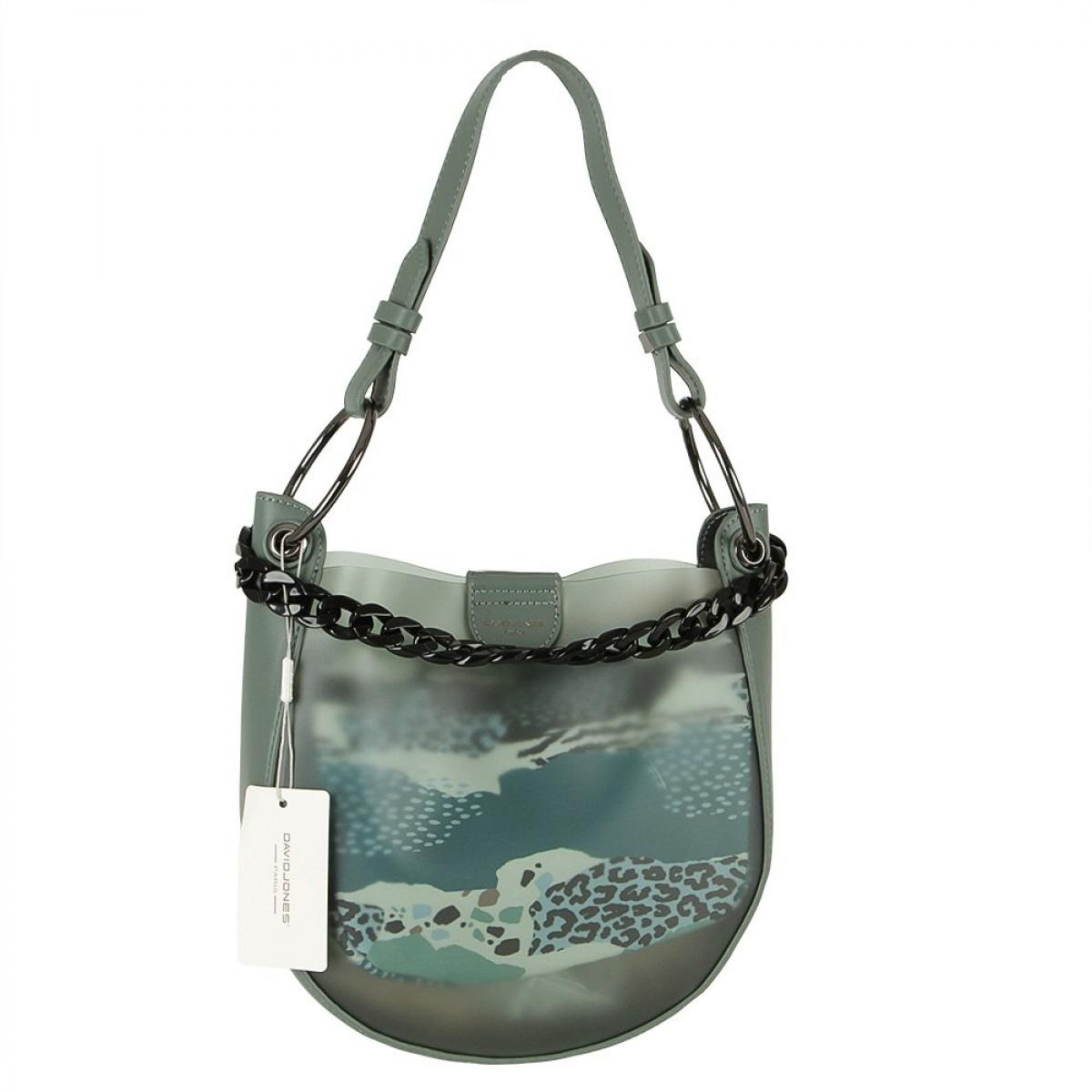 Жіноча сумка David Jones CM5794A GREEN