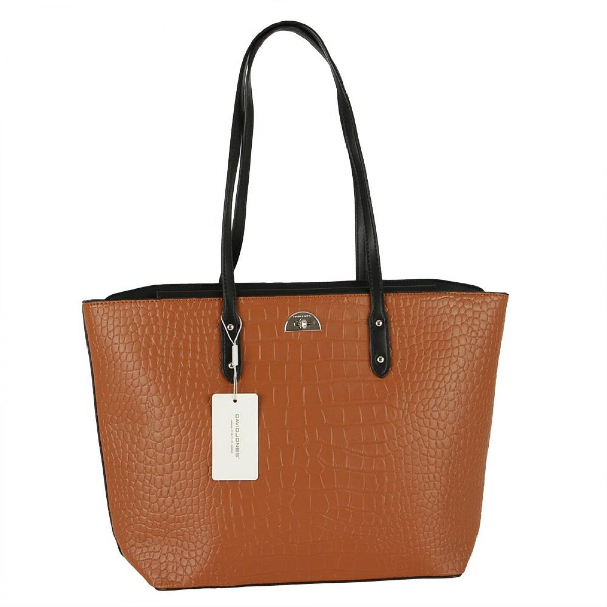 Жіноча сумка David Jones CM5812A COGNAC
