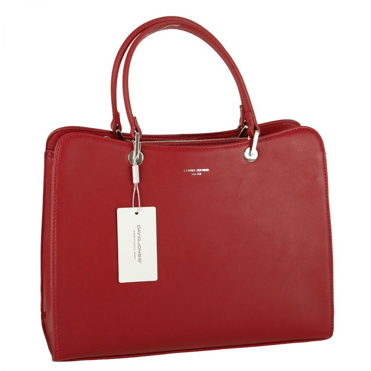 Жіноча сумка David Jones CM5815 DARK RED