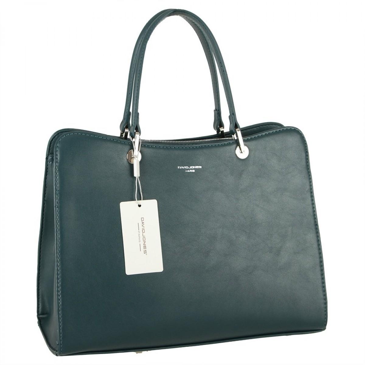 Жіноча сумка David Jones CM5815 PEACOCK BLUE