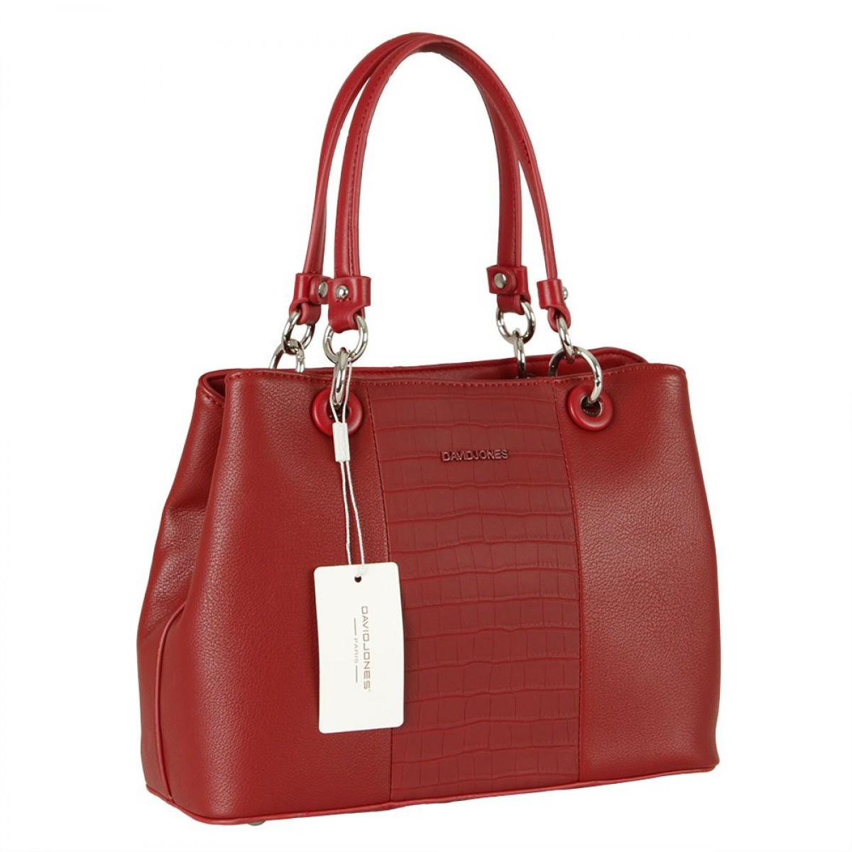 Жіноча сумка David Jones CM5816 DARK RED