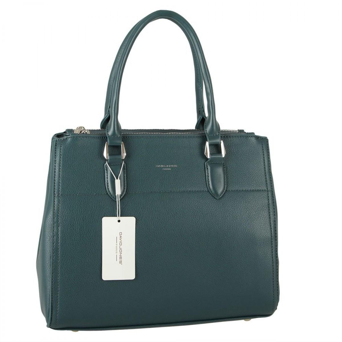 Жіноча сумка David Jones CM5819 PEACOCK BLUE