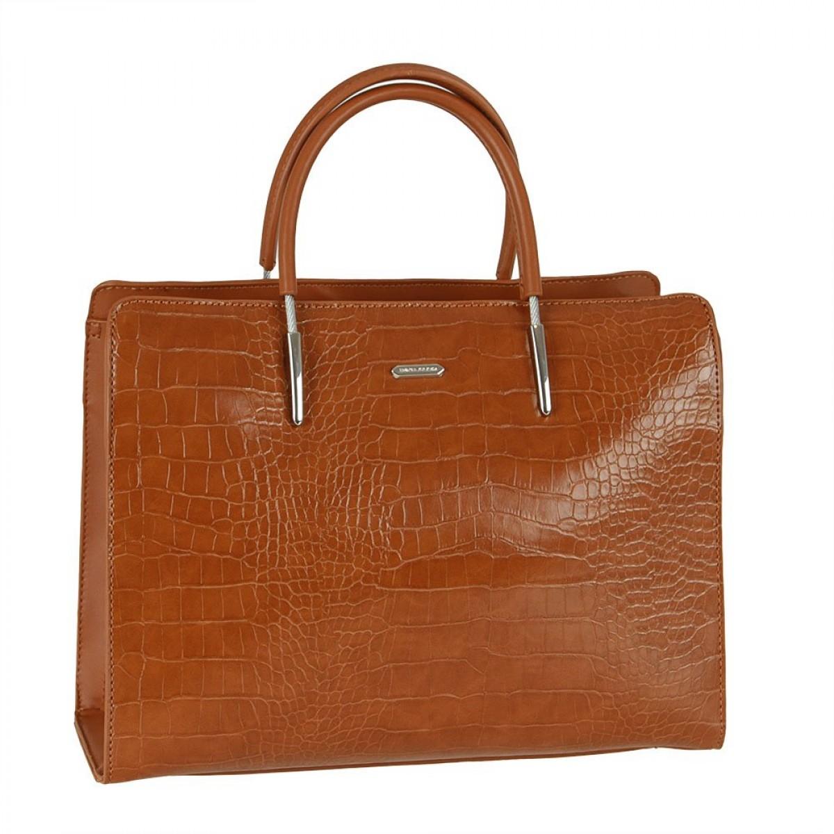 Жіноча сумка David Jones CM5820 COGNAC