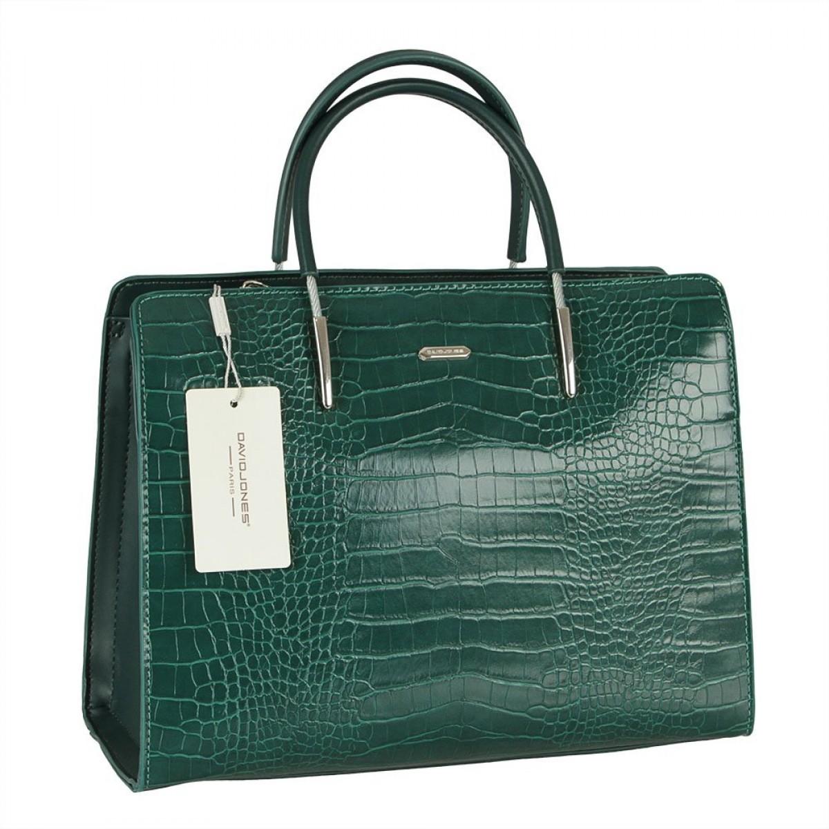 Жіноча сумка David Jones CM5820 D.GREEN