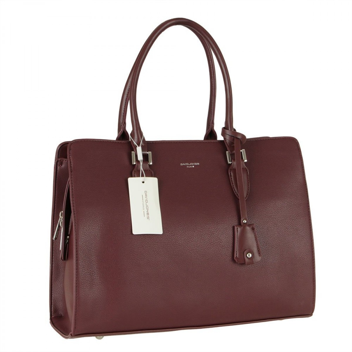 Жіноча сумка David Jones CM5822 DARK BORDEAUX
