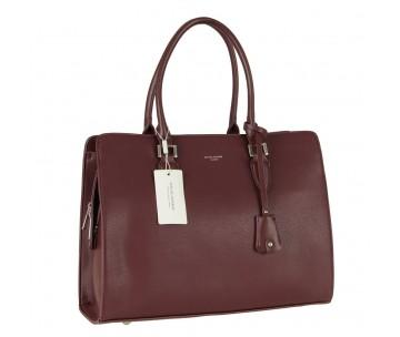 Жіноча сумка David Jones CM5822 DARK BORDEAUX