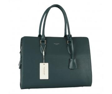 Жіноча сумка David Jones CM5822 PEACOCK BLUE