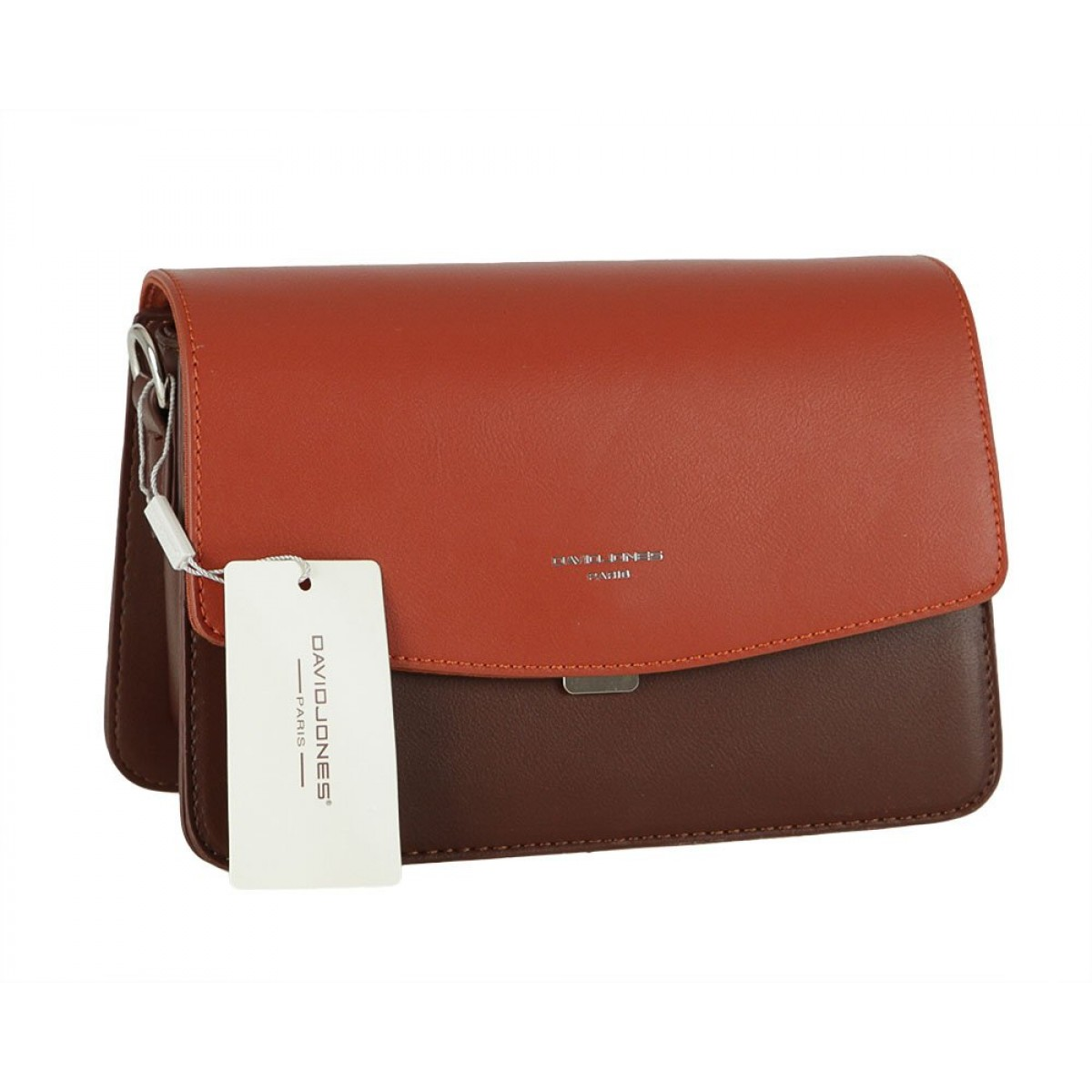 Жіноча сумка David Jones CM5825 D.BROWN
