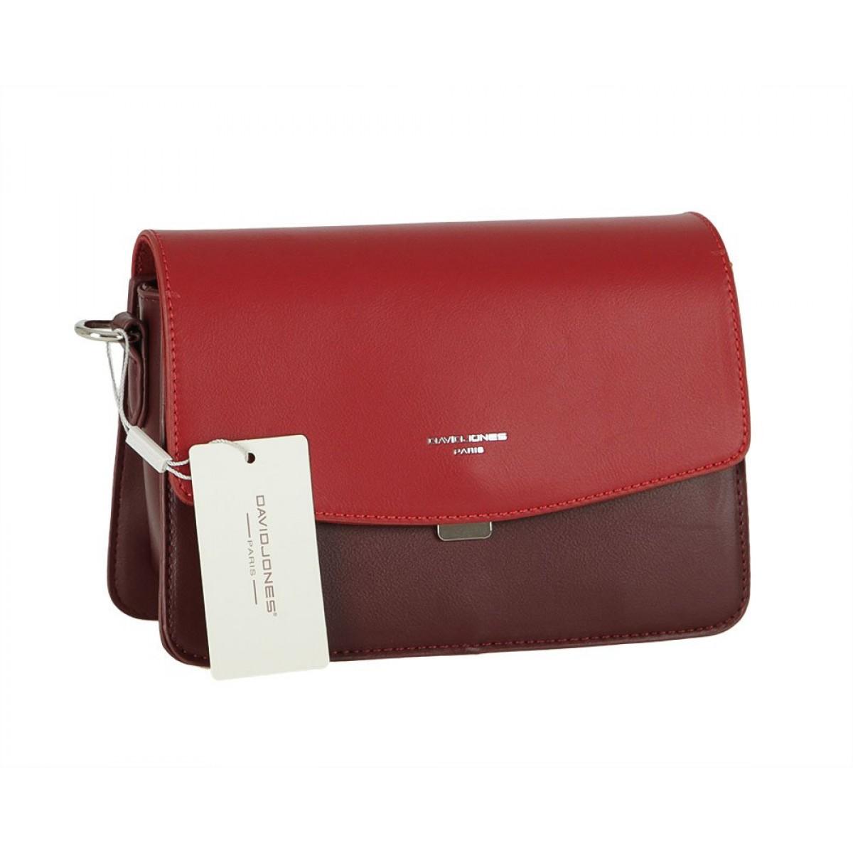 Жіноча сумка David Jones CM5825 DARK BORDEAUX