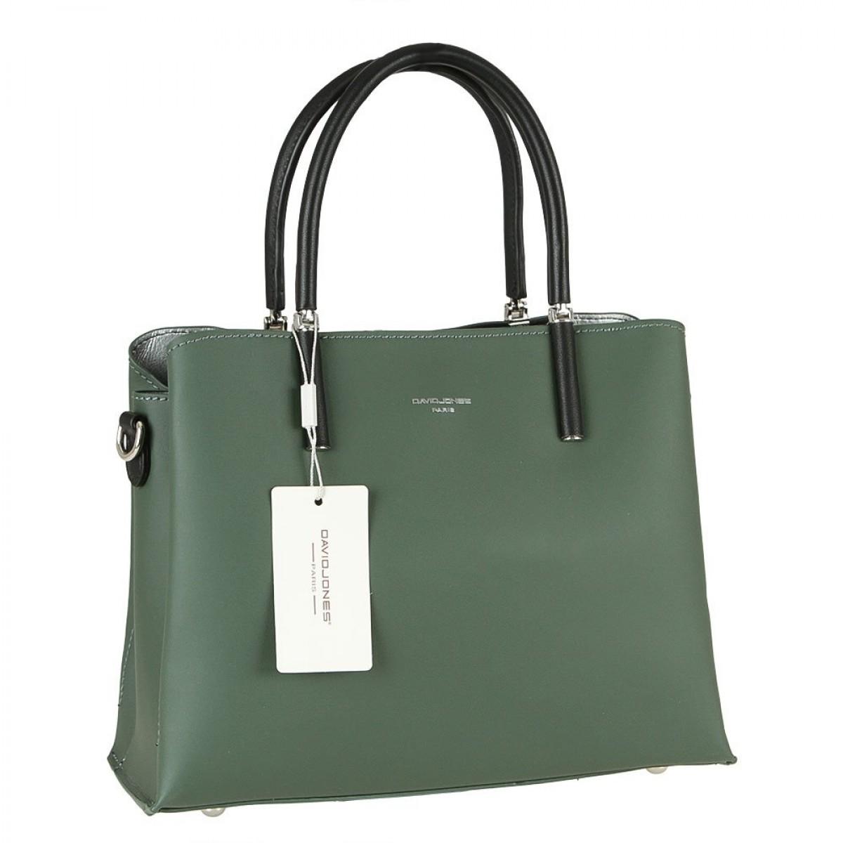 Жіноча сумка David Jones CM5827 D.GREEN