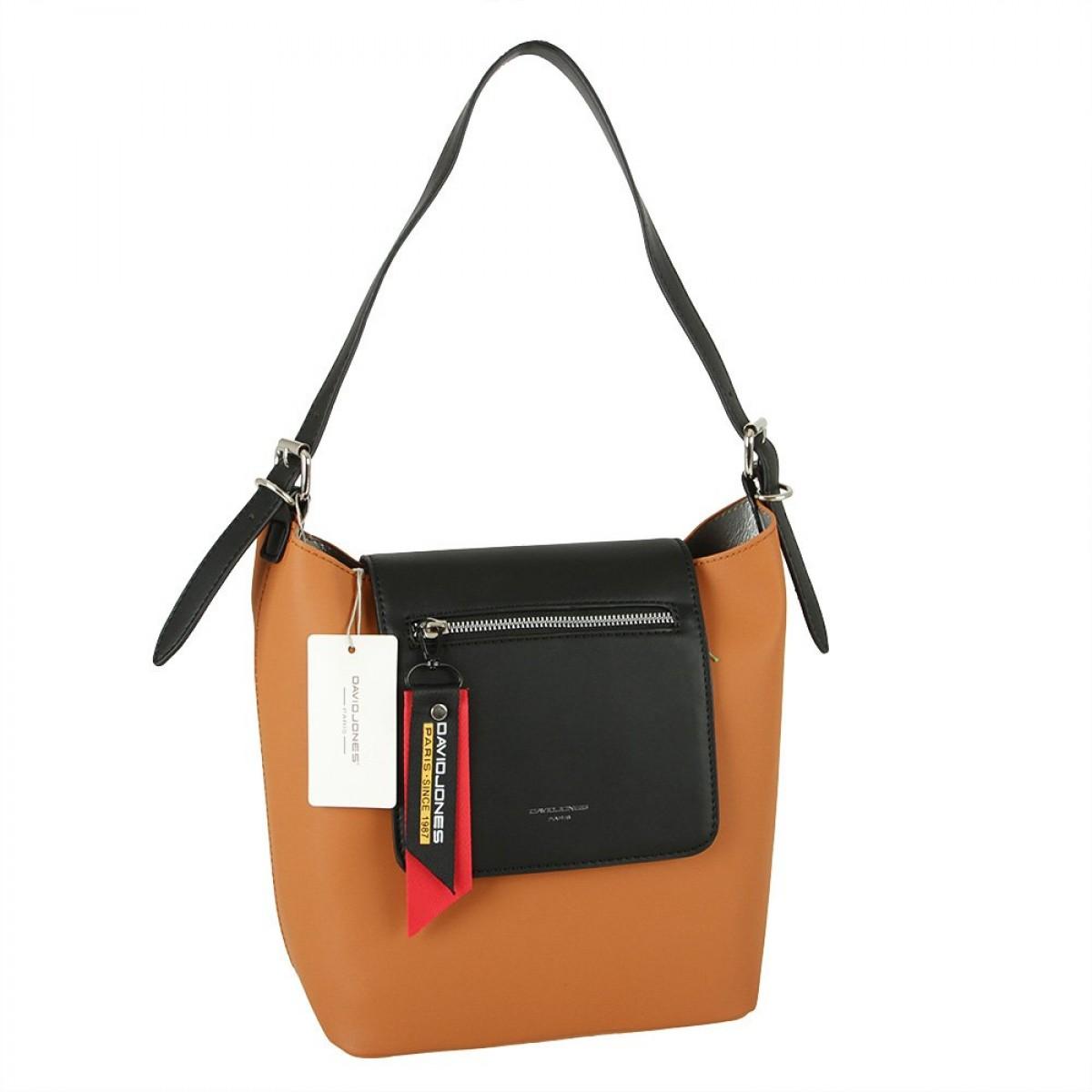 Жіноча сумка David Jones CM5828 CARAMEL