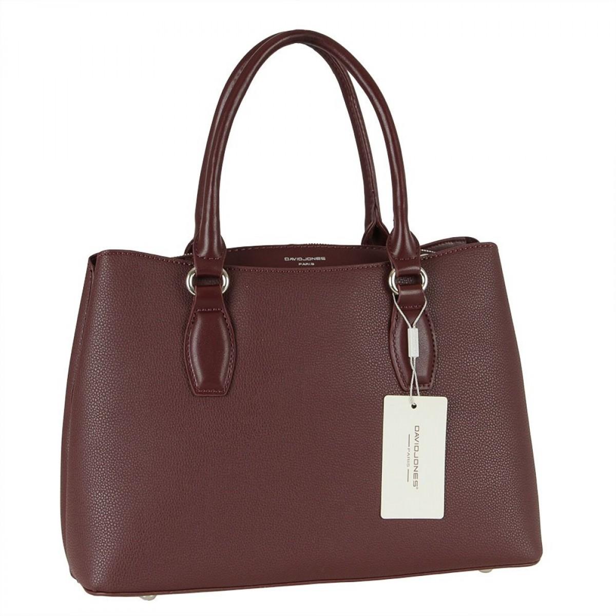 Жіноча сумка David Jones CM5836 DARK BORDEAUX