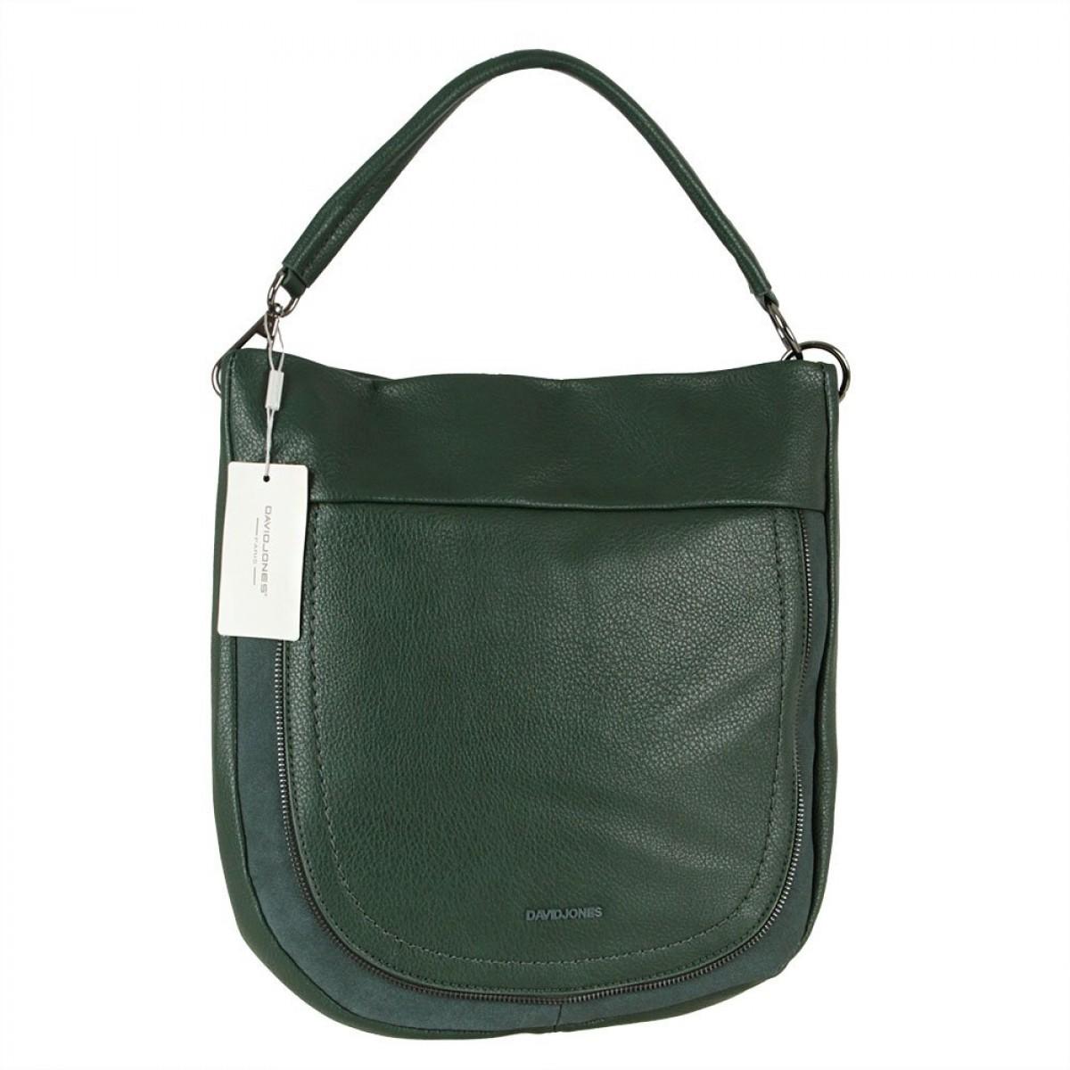Жіноча сумка David Jones CM5837 D.GREEN