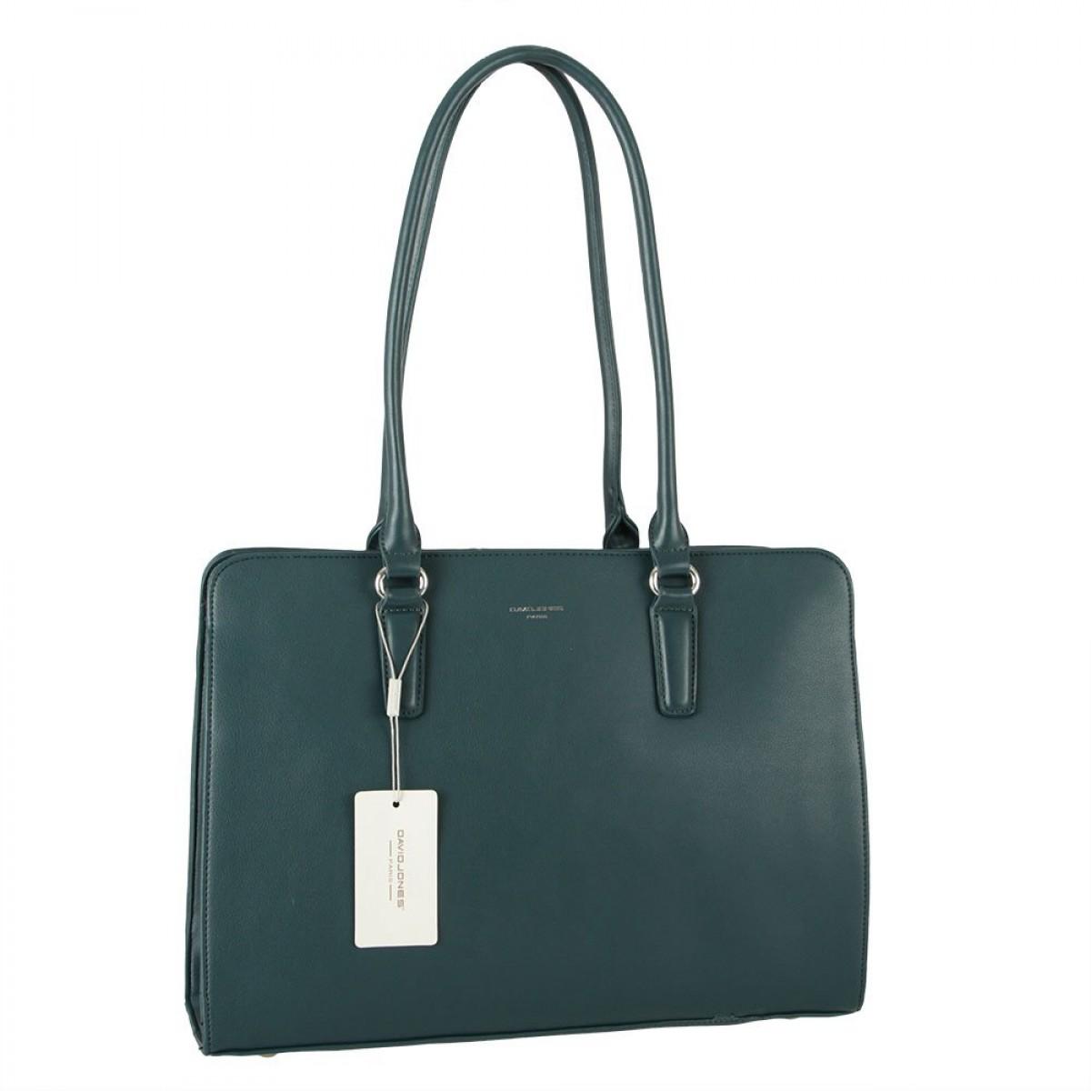Жіноча сумка David Jones CM5839 PEACOCK BLUE