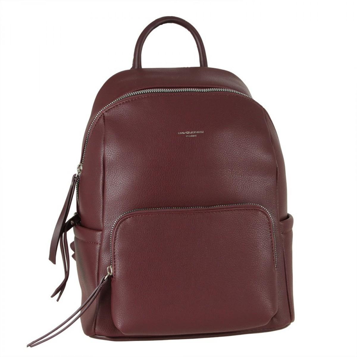 Жіночий рюкзак David Jones CM5845 DARK BORDEAUX