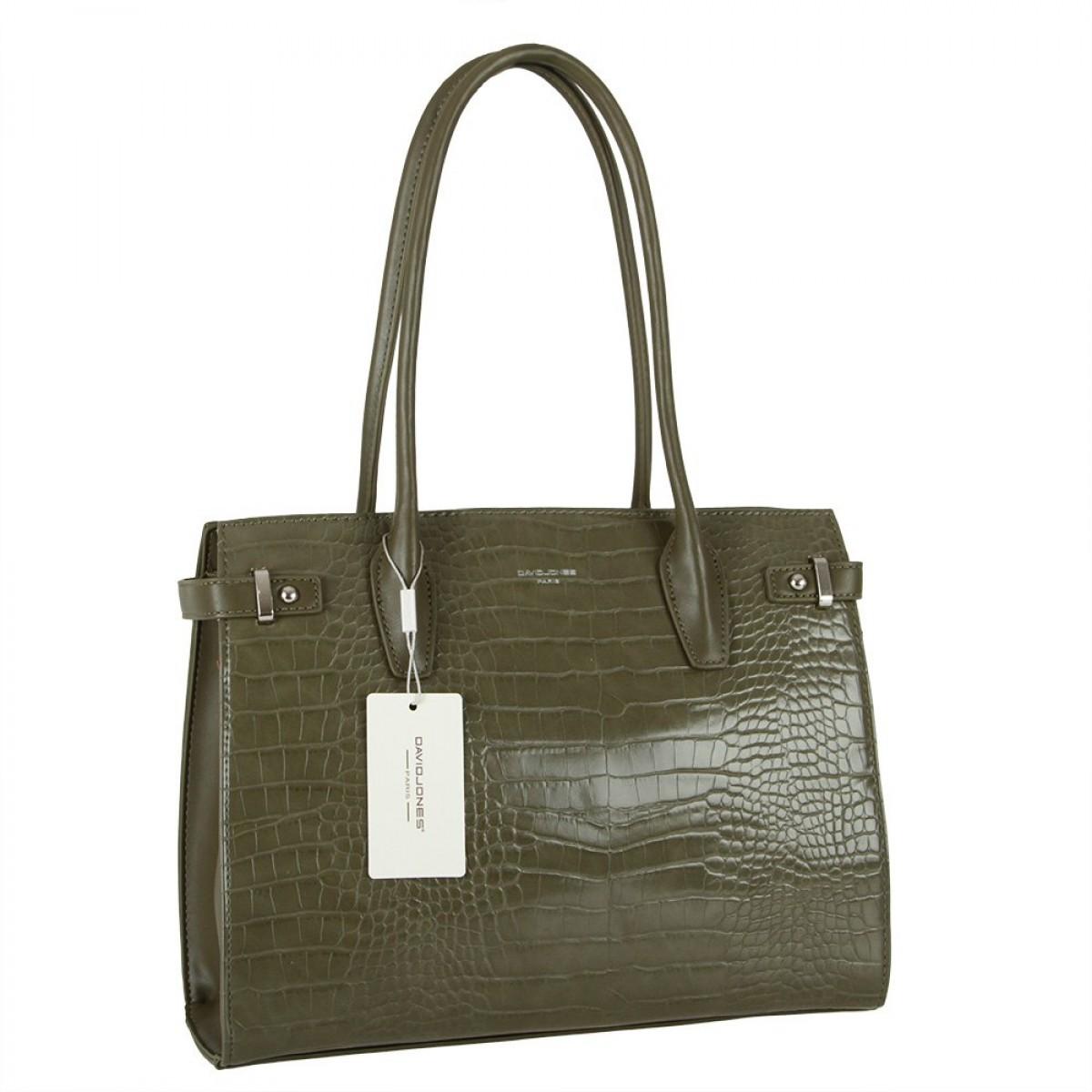 Жіноча сумка David Jones CM5846 VERT
