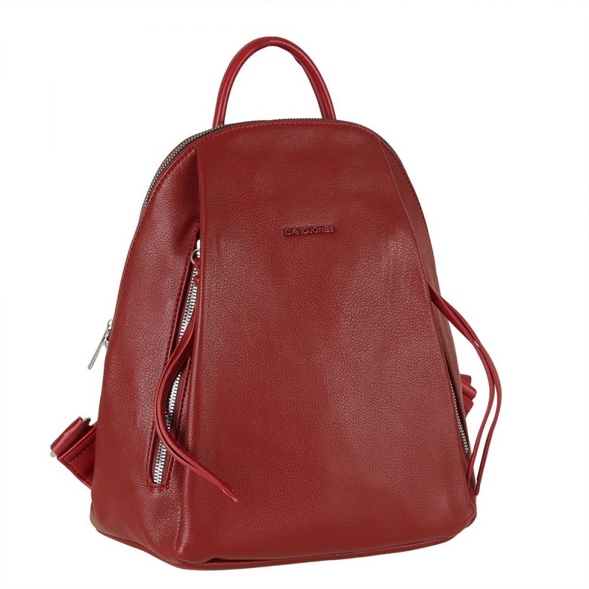 Жіночий рюкзак David Jones CM5848 DARK RED