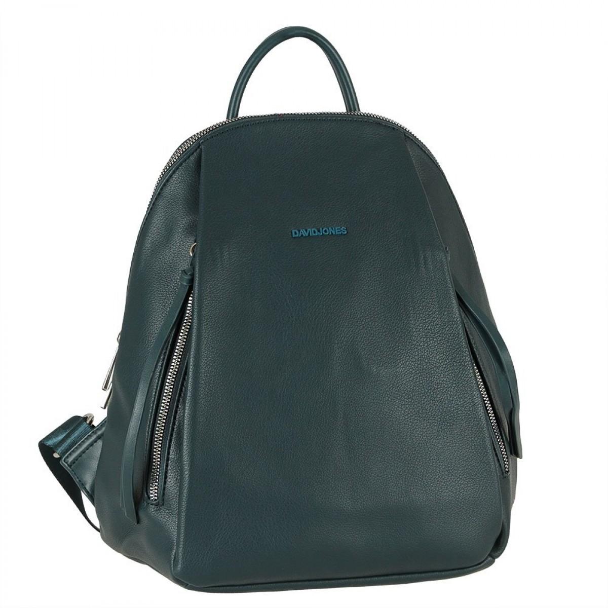 Жіночий рюкзак David Jones CM5848 PEACOCK BLUE