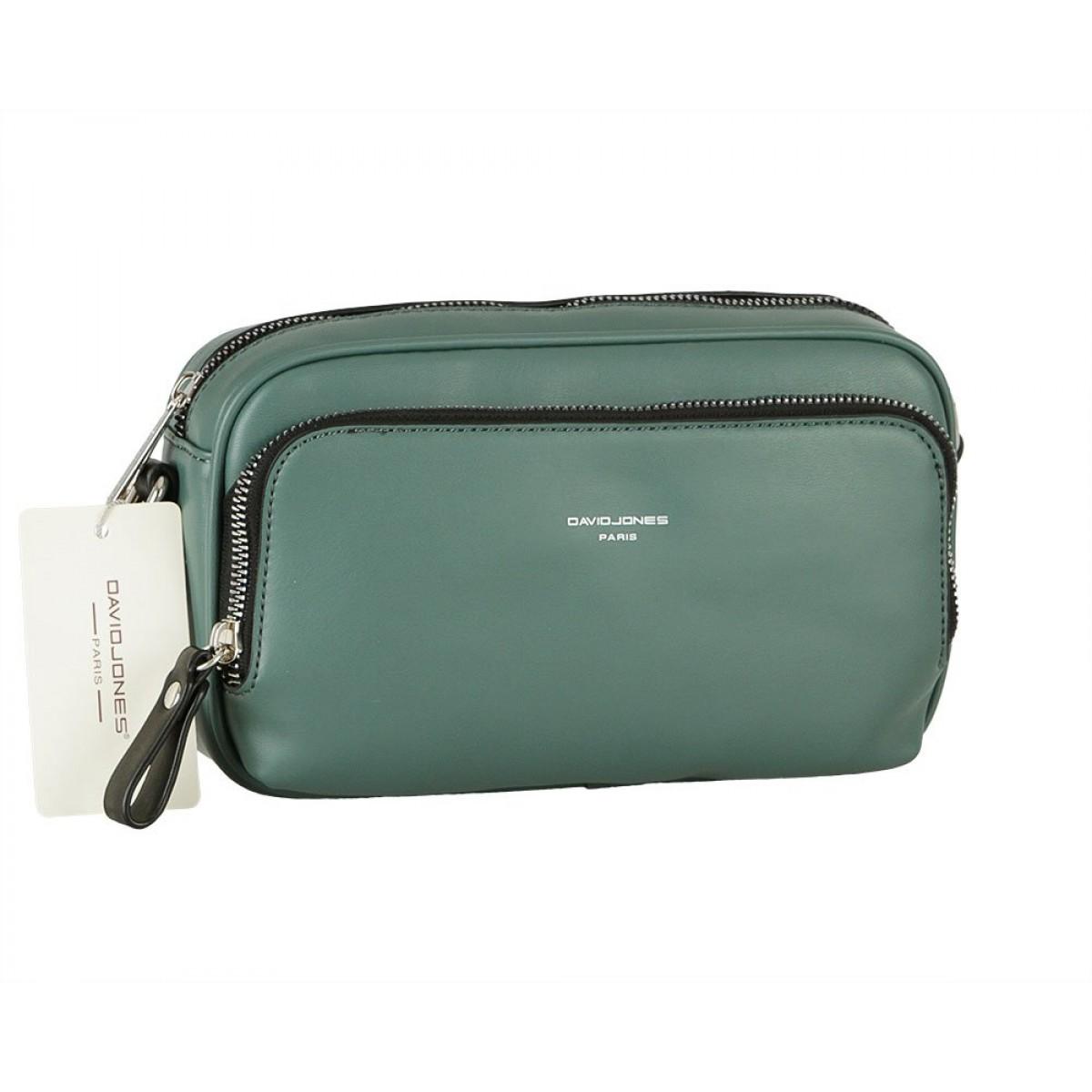 Жіноча сумка David Jones CM5849 D. GREEN