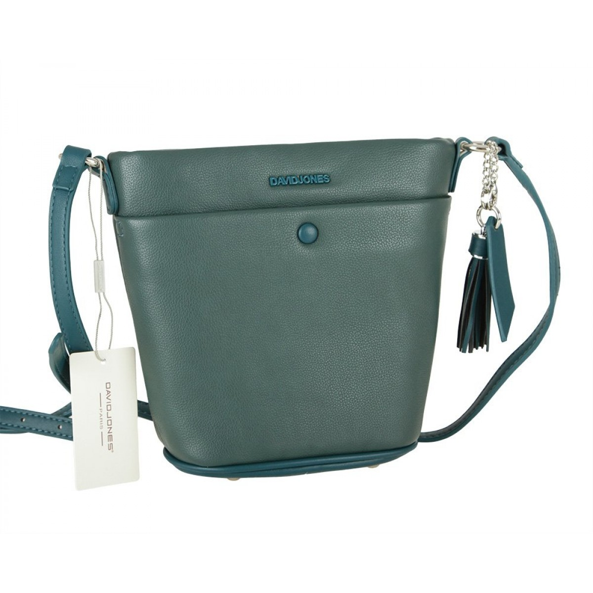 Жіноча сумка David Jones CM5851 PEACOCK BLUE