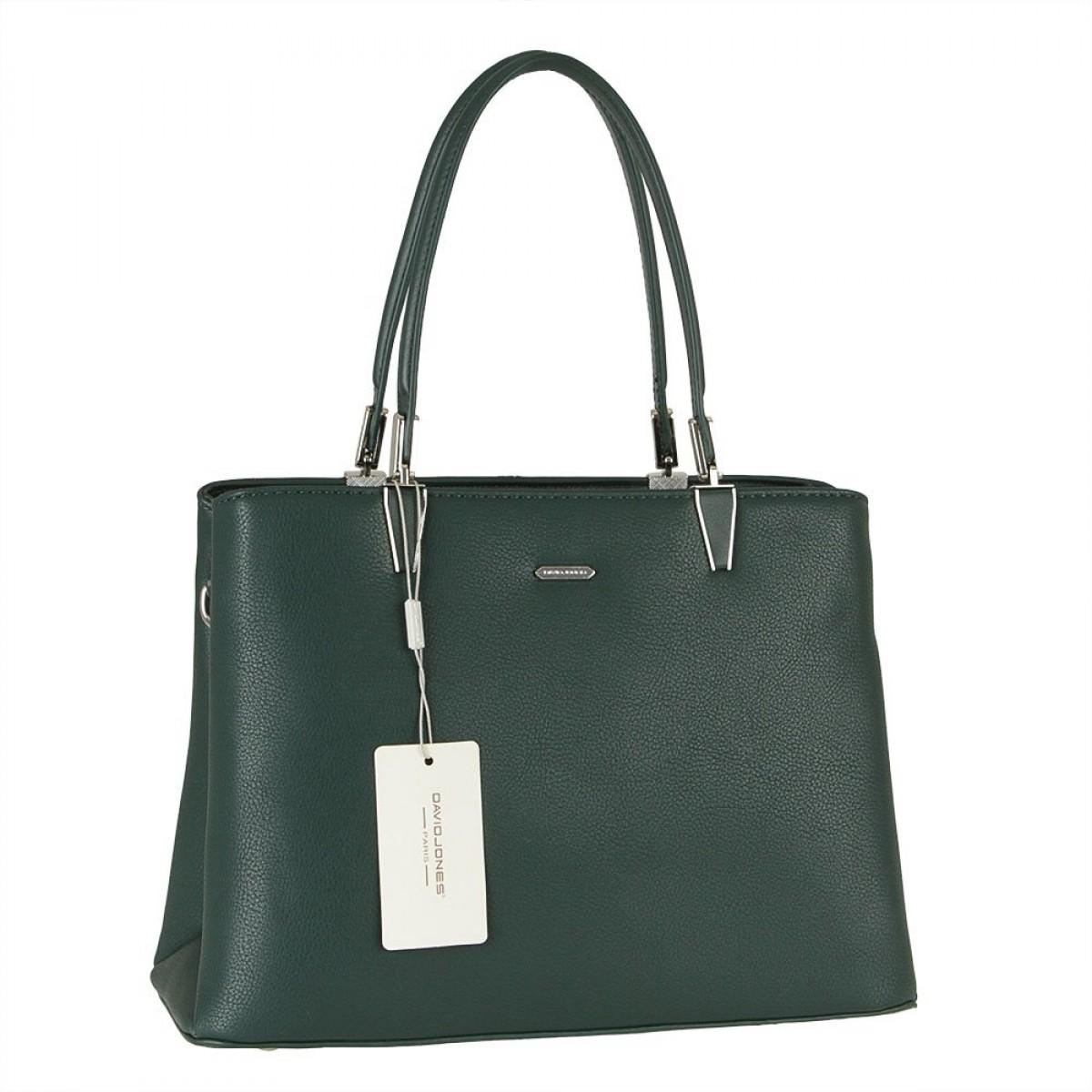 Жіноча сумка David Jones CM5853 D.GREEN
