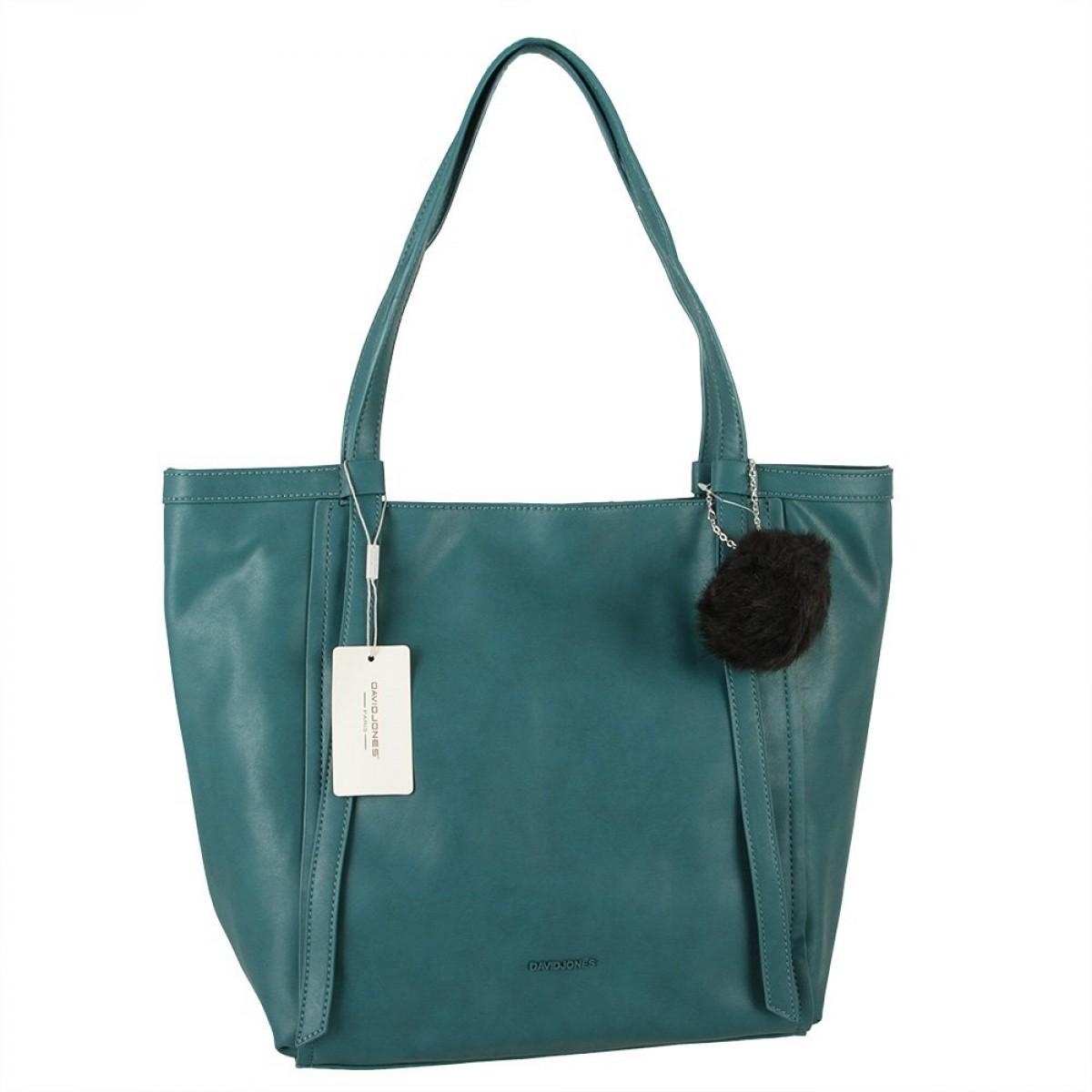 Жіноча сумка David Jones CM5856 PEACOCK BLUE