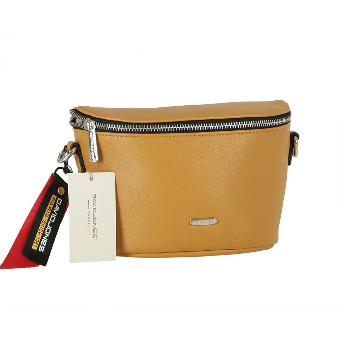 Жіноча сумка David Jones CM5857 YELLOW